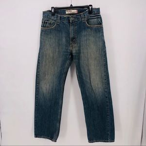 Levis 559 Jeans relaxed straight size 33x32
